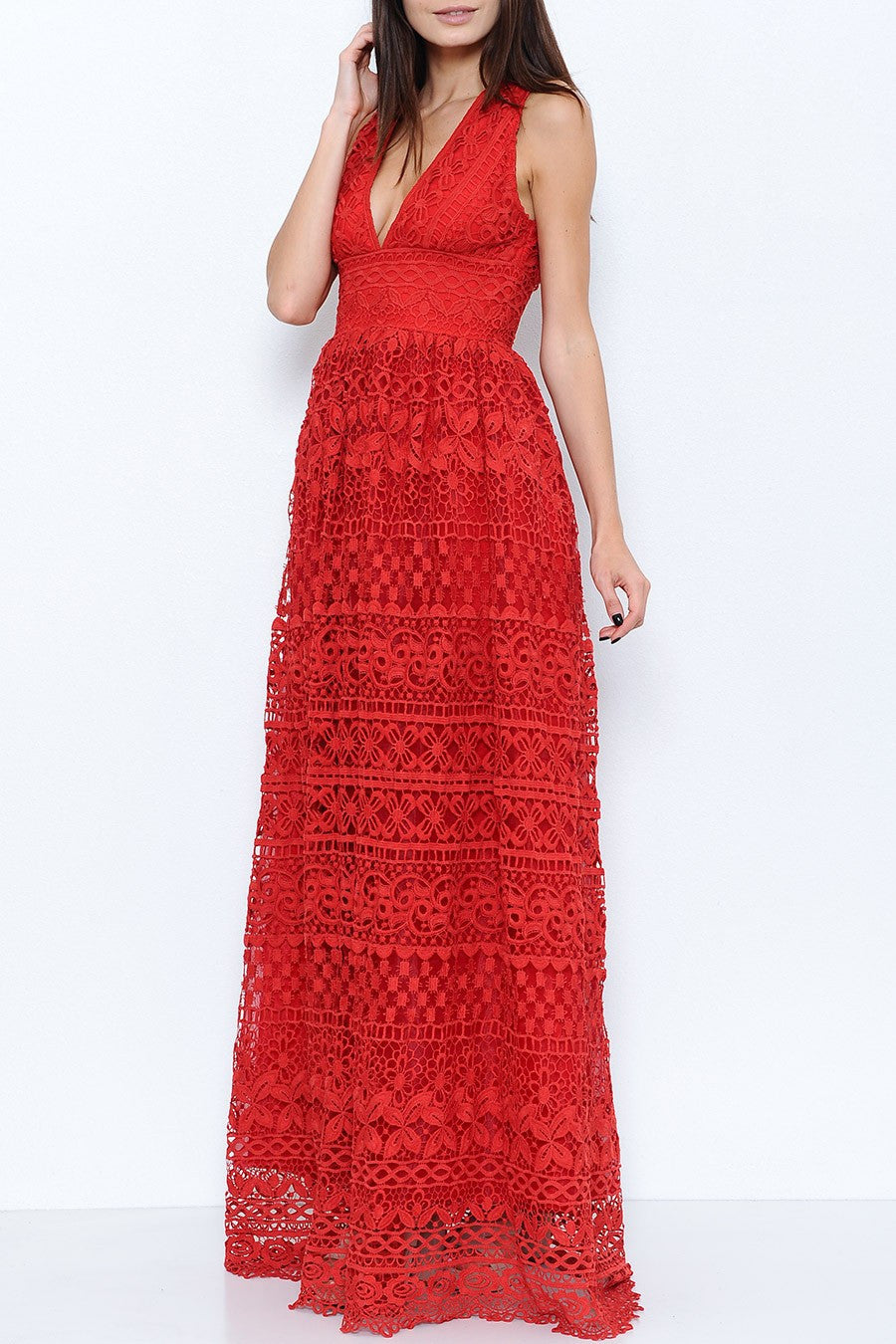Lilith Crochet Dress