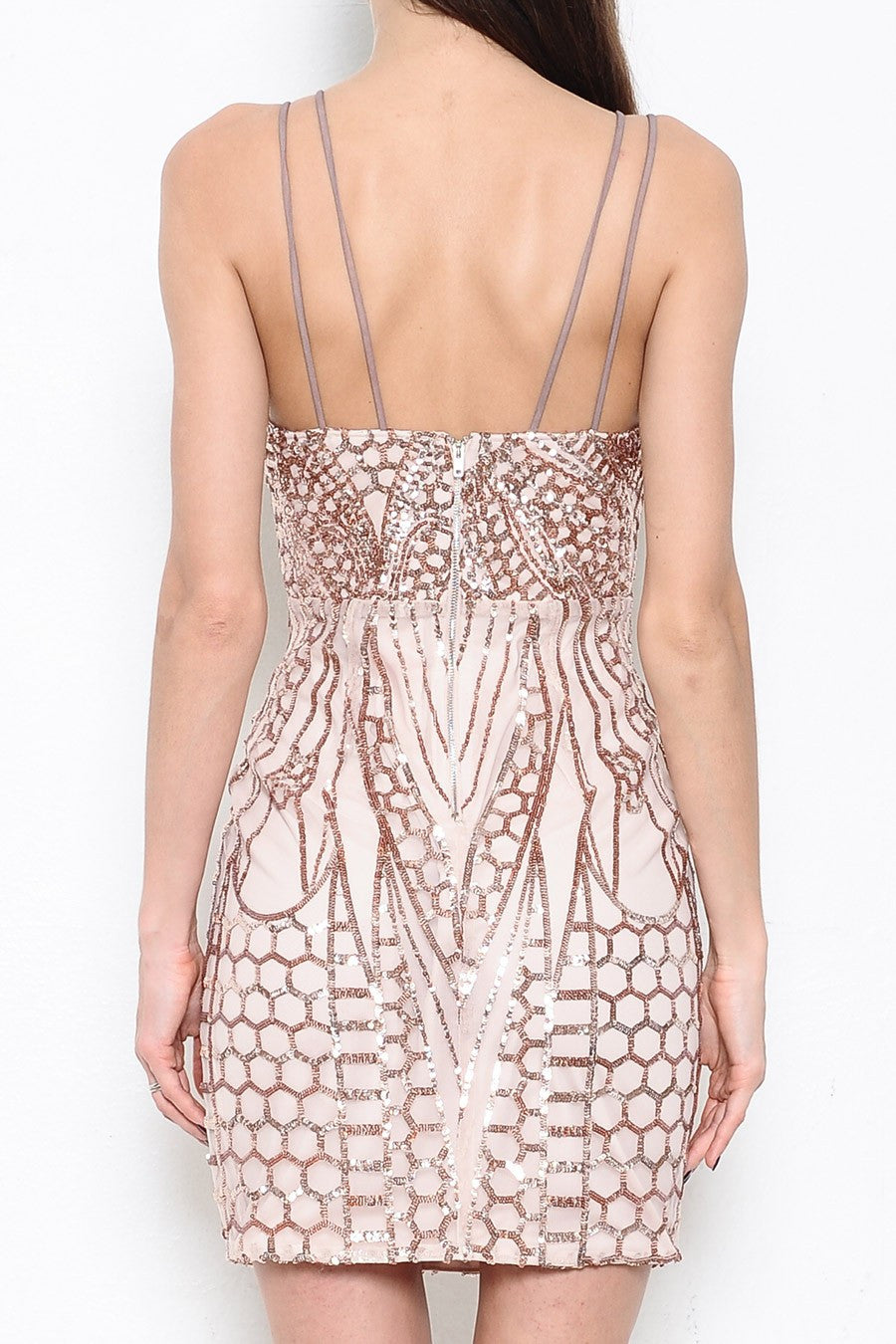 Lux Sequin Dress