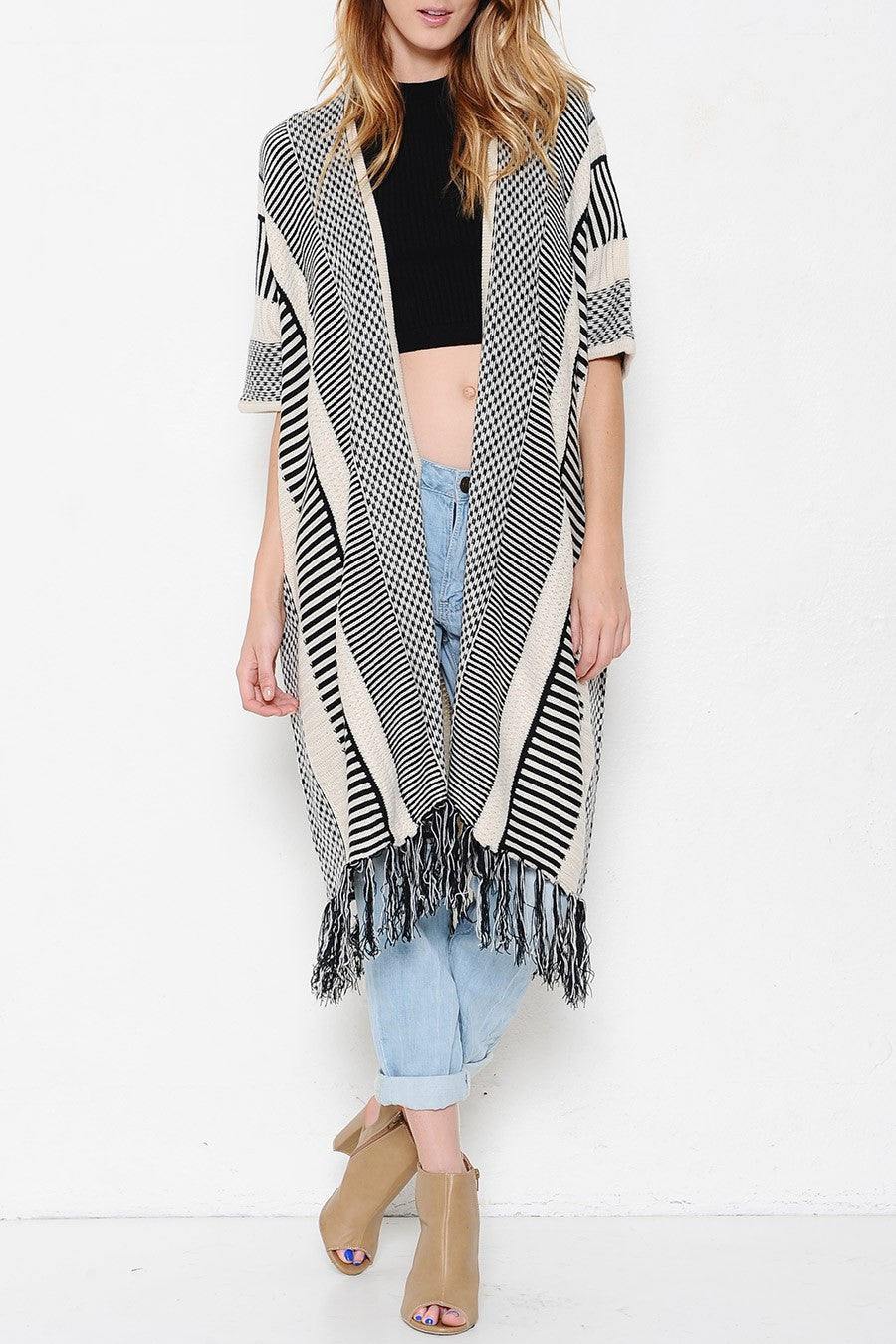 Ulani Long Cardigan