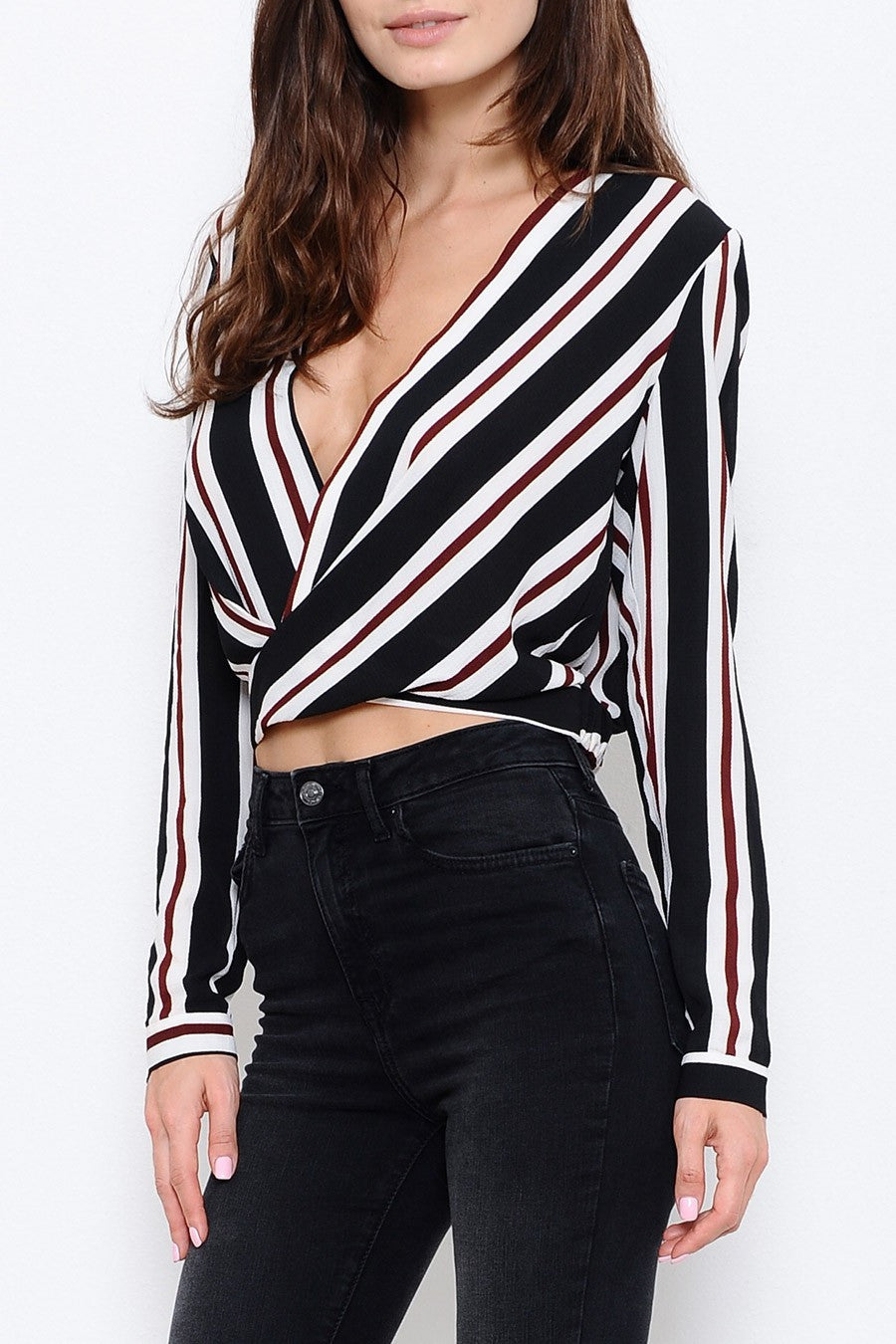 Dubrow Striped Top