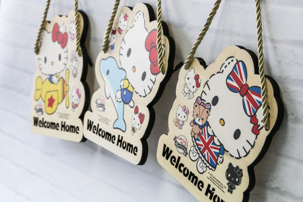 Hello Kitty Wooden Signage (KT83s)