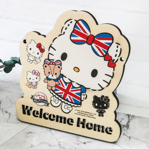 Hello Kitty Wooden Signage (KT84s)