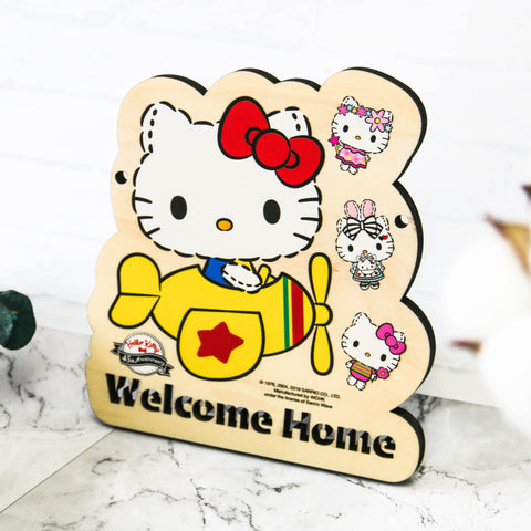 Hello Kitty Wooden Signage (KT82s)