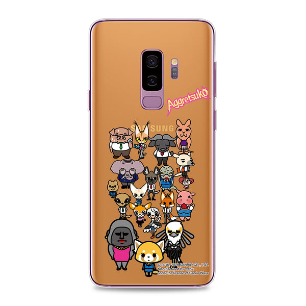 Aggretsuko Clear Case (AR803)