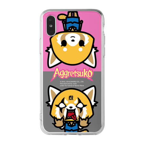 Aggretsuko Clear Case (AR804)