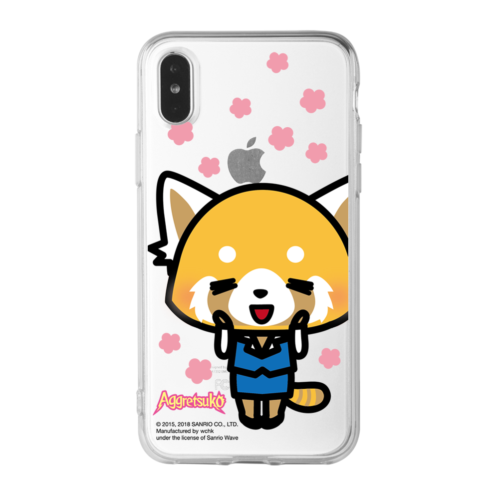 Aggretsuko Clear Case (AR806)