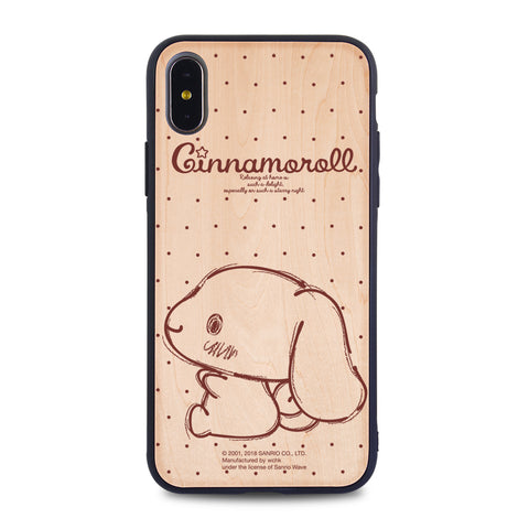 Cinnamoroll Wooden Case (CN89W)