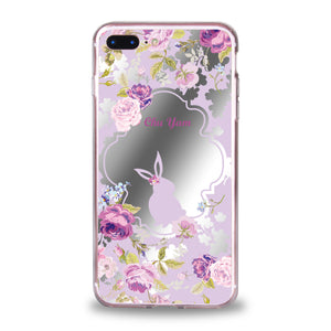 Custom - Floral Mirror Jelly Case (DF01)