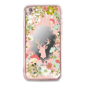 Custom - Floral Mirror Jelly Case (DF02)