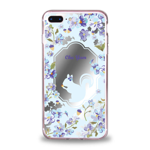 Custom - Floral Mirror Jelly Case (DF03)