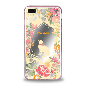 Custom - Floral Mirror Jelly Case (DF04)