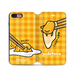 Gudetama Leather Flip Case (GA01)
