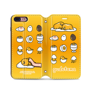 Gudetama Leather Flip Case (GA02)