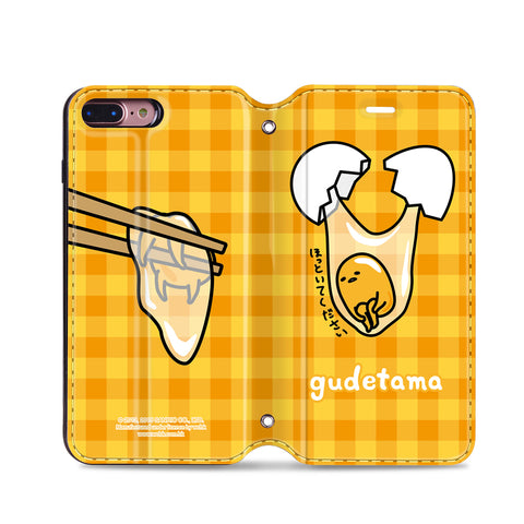 Gudetama Leather Flip Case (GA03)
