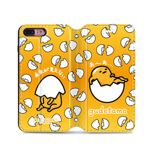 Gudetama Leather Flip Case (GACM04)
