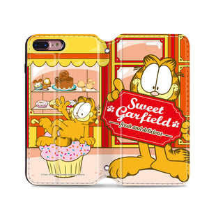 Garfield Leather Flip Case (GFCM15)