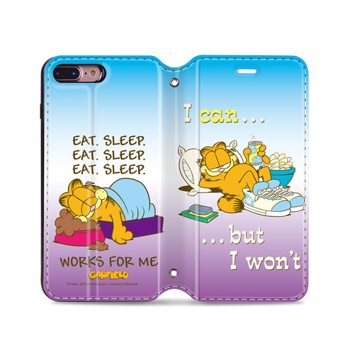 Garfield Leather Flip Case (GFCM17)