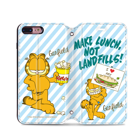 Garfield Leather Flip Case (GFCM20)