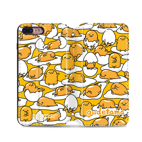 Gudetama Leather Flip Case (GUTW03)