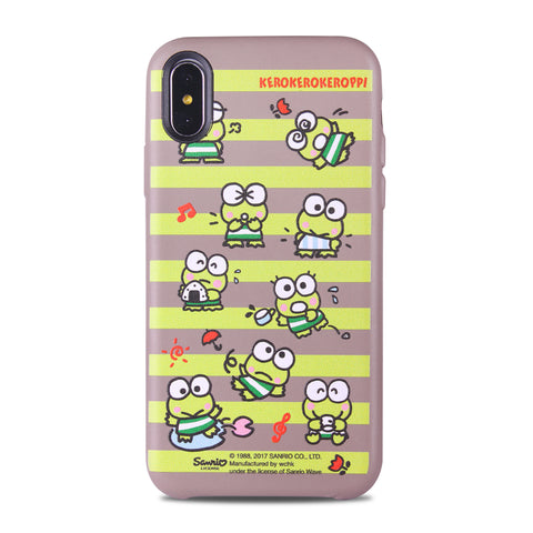 KeroKeroKeroppi Leather Snap Case (KR83LH)