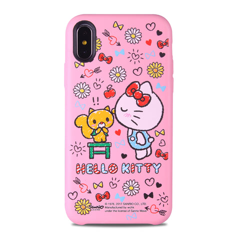 Hello Kitty Leather Snap Case (KT110LH)