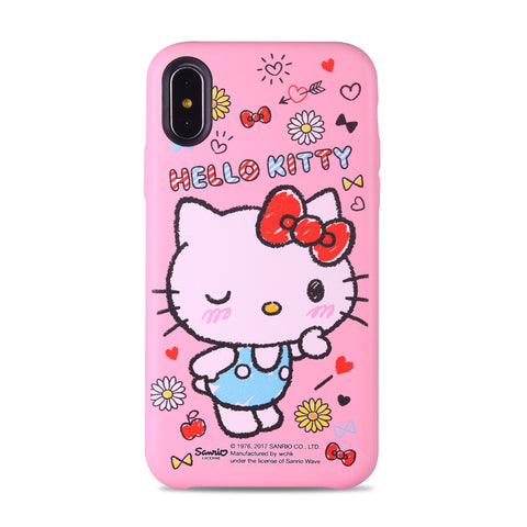 Hello Kitty Leather Snap Case (KT111LH)