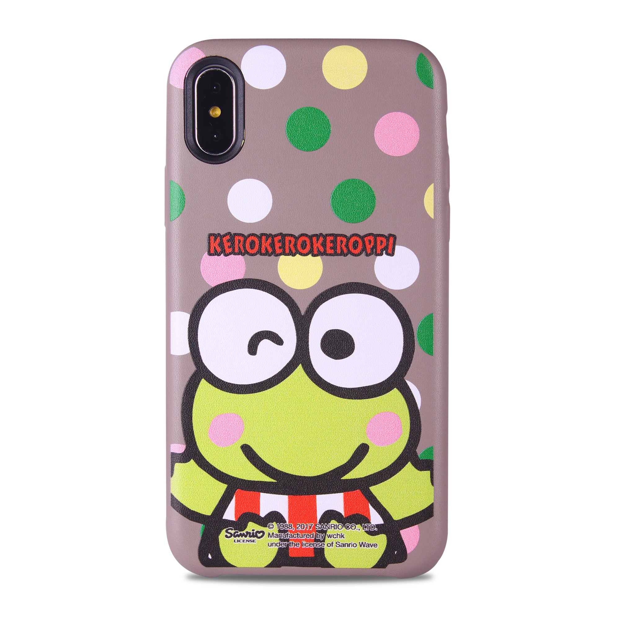 KeroKeroKeroppi Leather Snap Case (KR81LH)