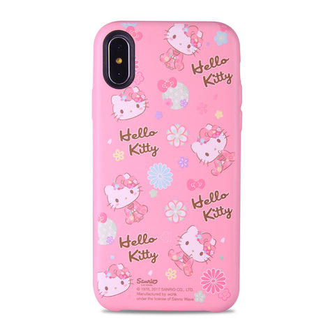 Hello Kitty Leather Snap Case (KT89LH)