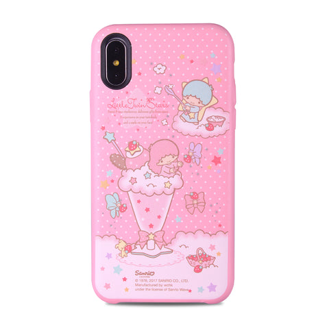 Little Twin Stars Leather Snap Case (TS102LH)