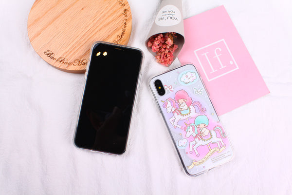 Little Twin Stars Clear Case (TS127)