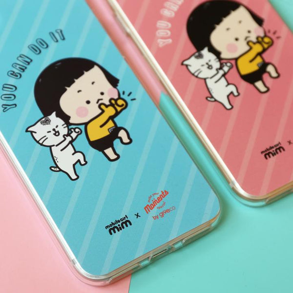 Mobile Girl MiM Clear Case (PC-MM002B)