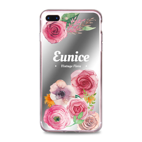 Custom - Floral Mirror Jelly Case (JC501)