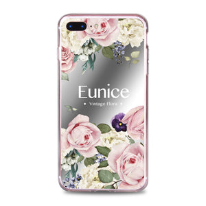 Custom - Floral Mirrorr Jelly Case (JC502)