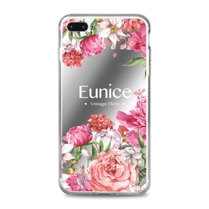 Custom - Floral Mirrorr Jelly Case (JC503)