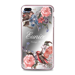 Custom - Floral Mirror Jelly Case (JC504)
