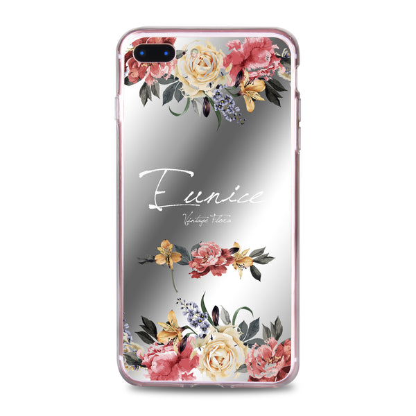 Custom - Floral Mirror Jelly Case (JC505)