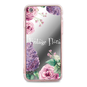 Custom - Floral Mirror Jelly Case (JC506)