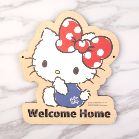 Hello Kitty Wooden Signage (KT81s)