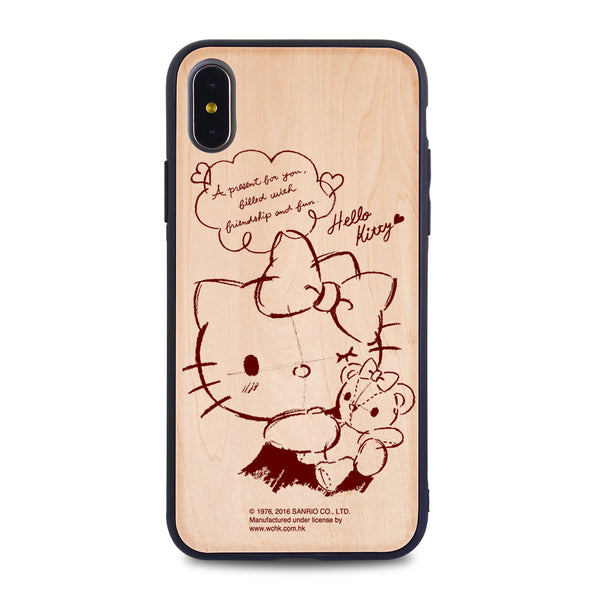 Hello Kitty Wooden Case (KT88W)