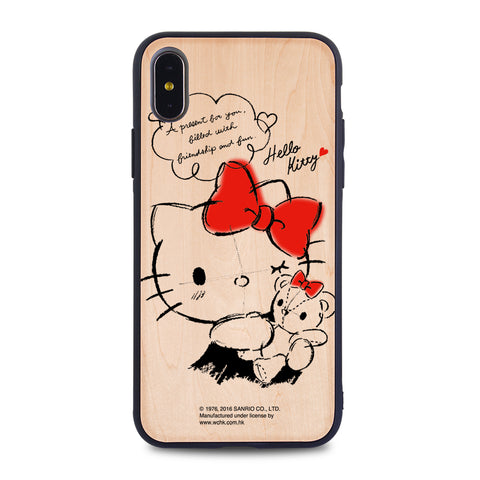 Hello Kitty Wooden Case (KT90W)