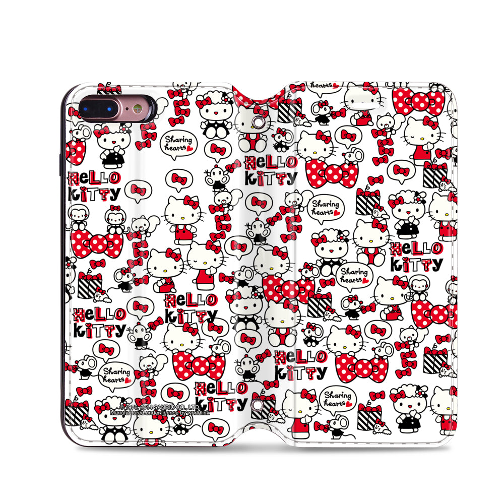 Hello Kitty Leather Flip Case (KTCM05)