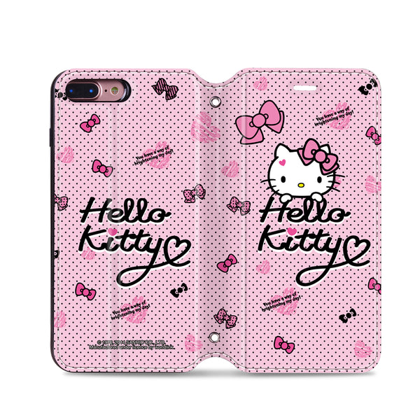 Hello Kitty Leather Flip Case (KTCM07)