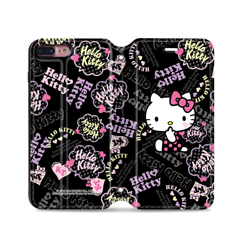 Hello Kitty Leather Flip Case (KTCM11)