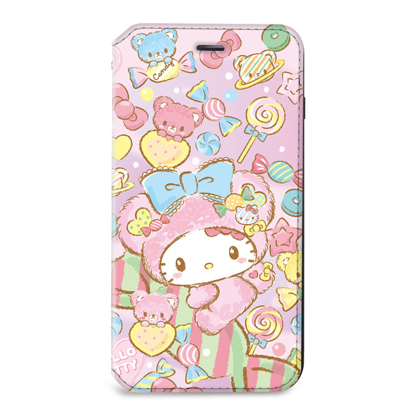 Hello Kitty Leather Flip Case (KTTW04)