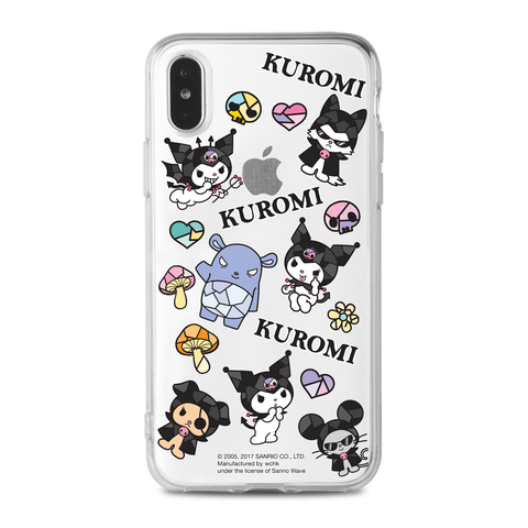 Kuromi Clear Case (KU91)