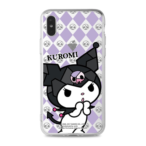 Kuromi Clear Case (KU92)