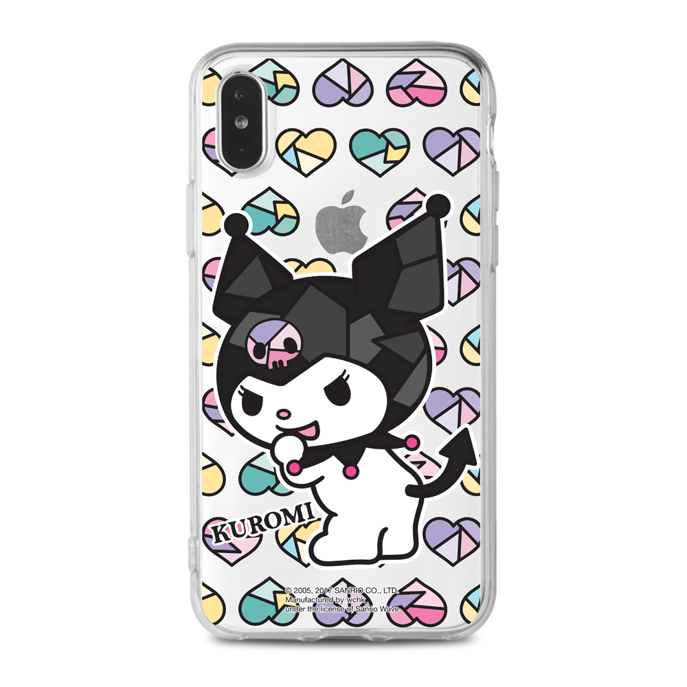 Kuromi Clear Case (KU95)