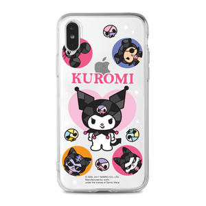 Kuromi Clear Case (KU96)