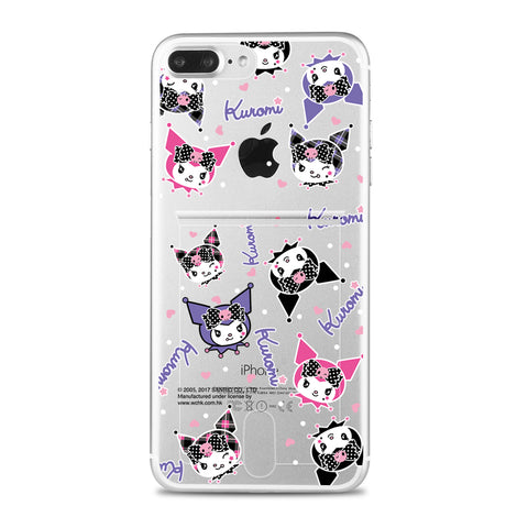 Kuromi Jelly Card Case (KUCH86)