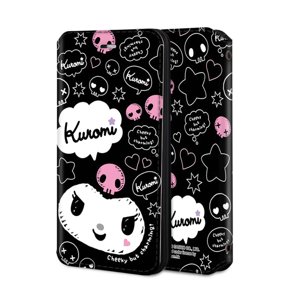Kuromi Leather Flip Case (KUCM02)